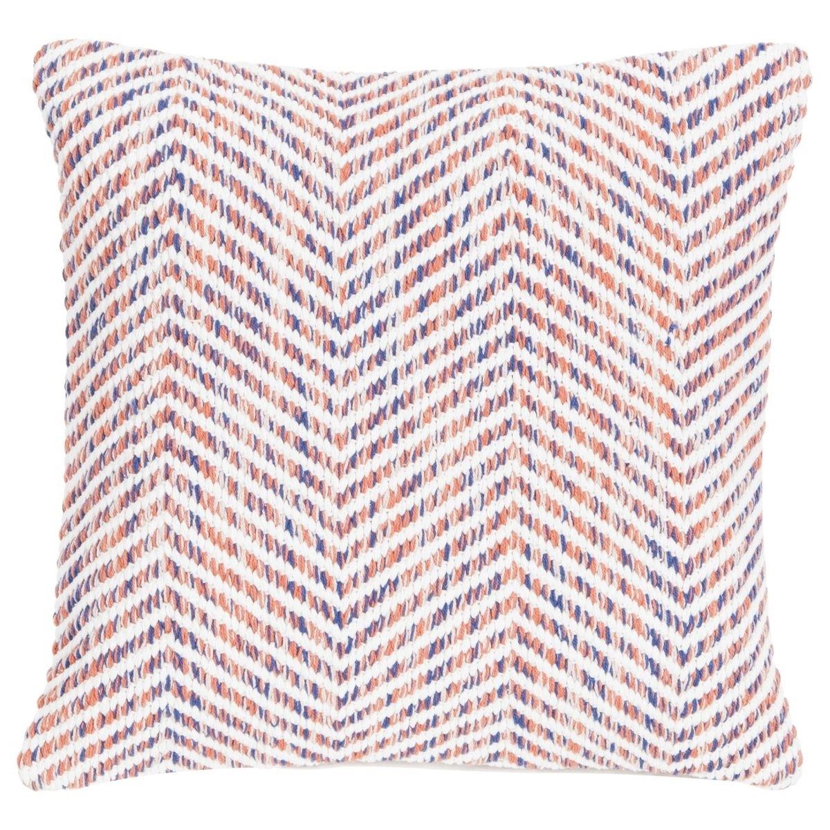 Poduszka z poszewką Melange Zigzag 45x45 cm