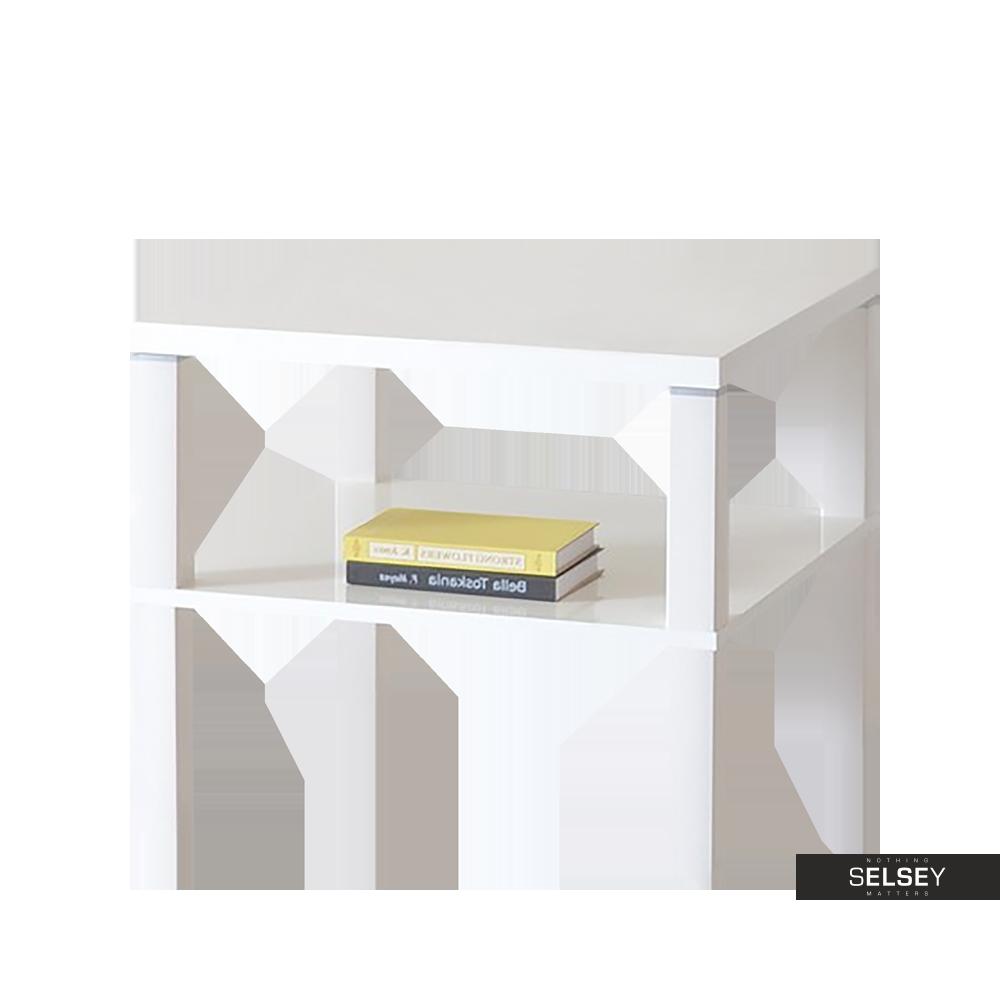Stolik kawowy Corso 55x55 cm z półką pod blatem