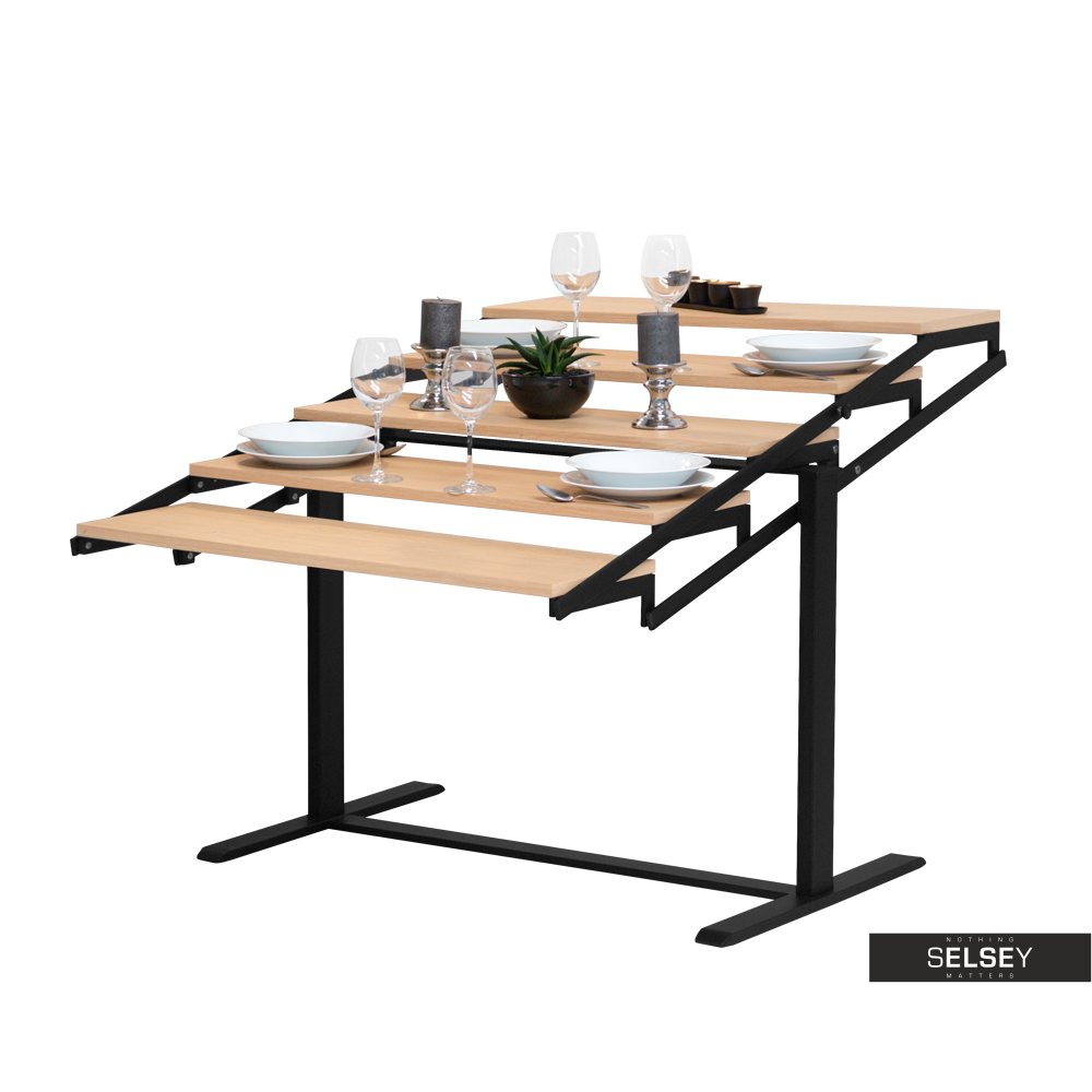 Stół Swing innowacyjny regał rozkładany