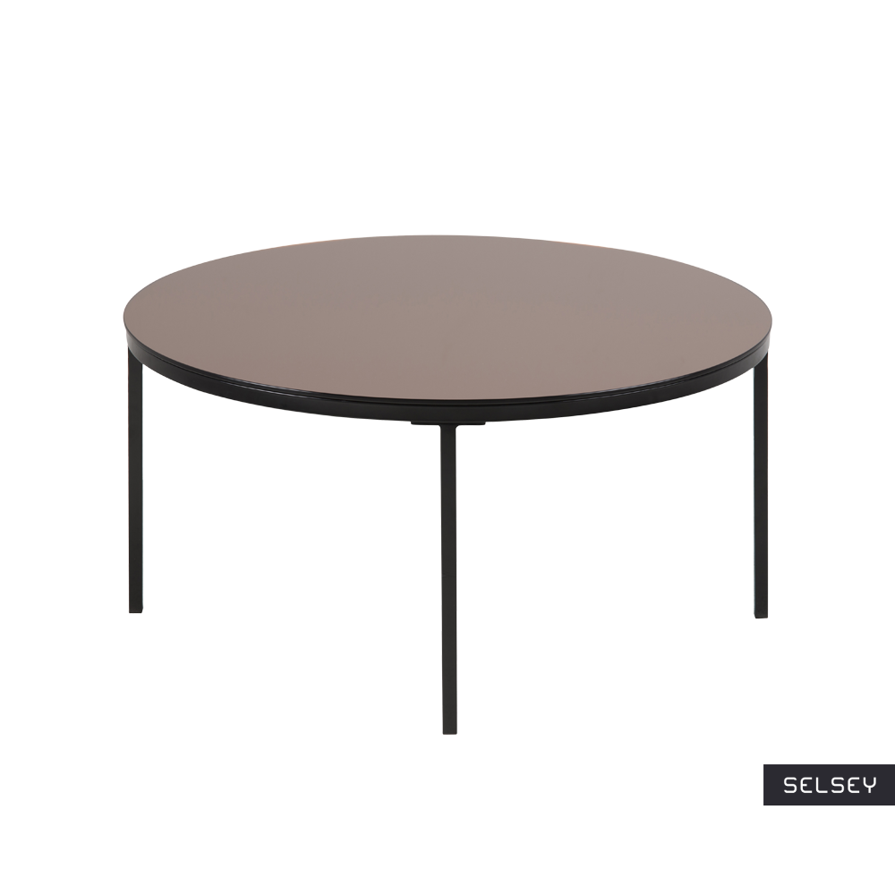 Stolik kawowy Tiston średnica 80 cm