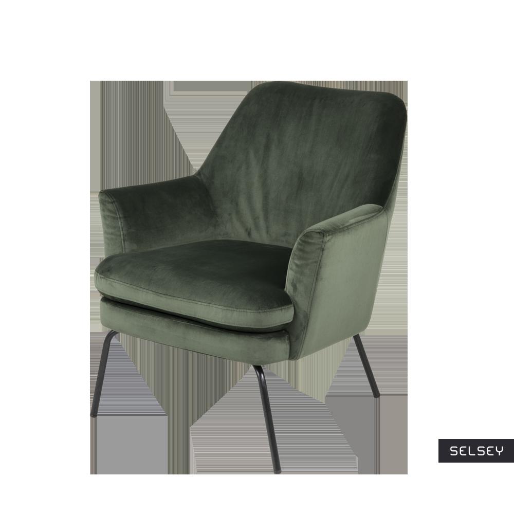 Fotel Breaza zielony