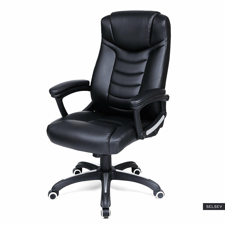 Fotel biurowy Taddeo czarny