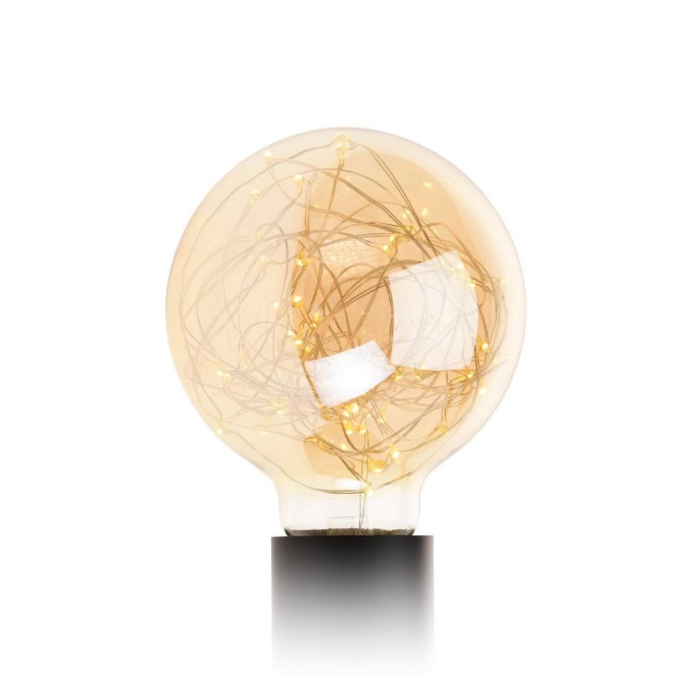 Żarówka Parklim G95 50 LED golden