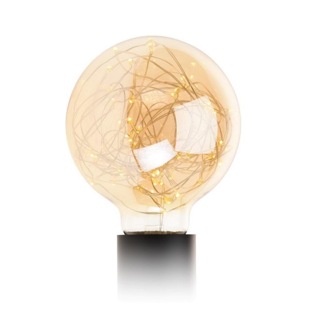 Żarówka Parklim G125 50 LED golden
