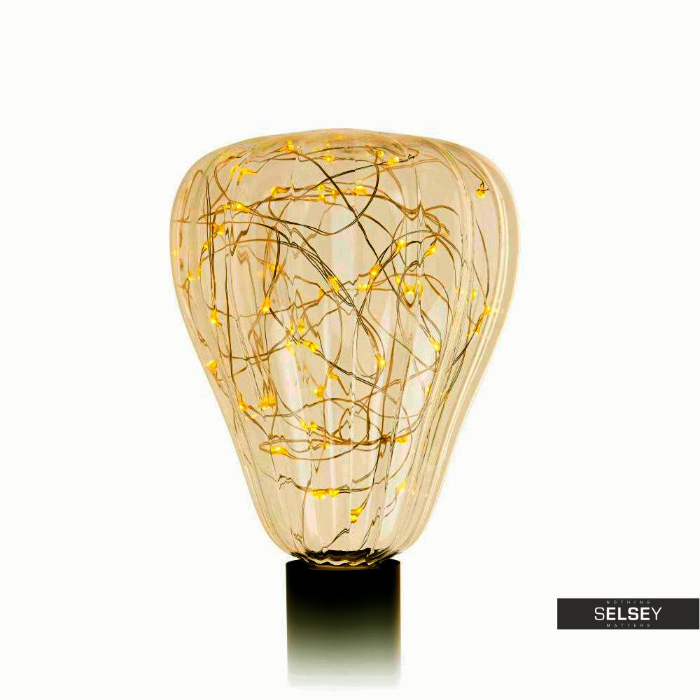 Żarówka Sparkling 18,5 cm 50 LED golden