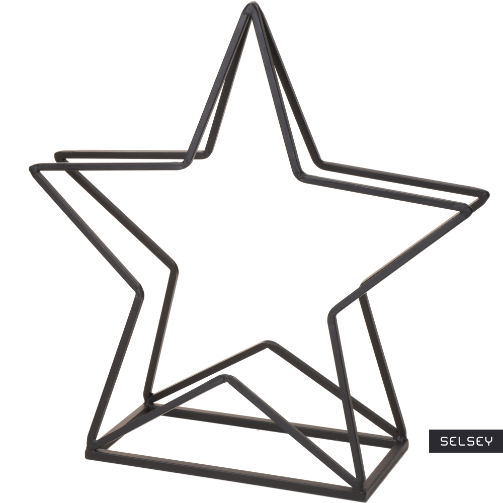 Stojak na drewno kominkowe Gwiazda