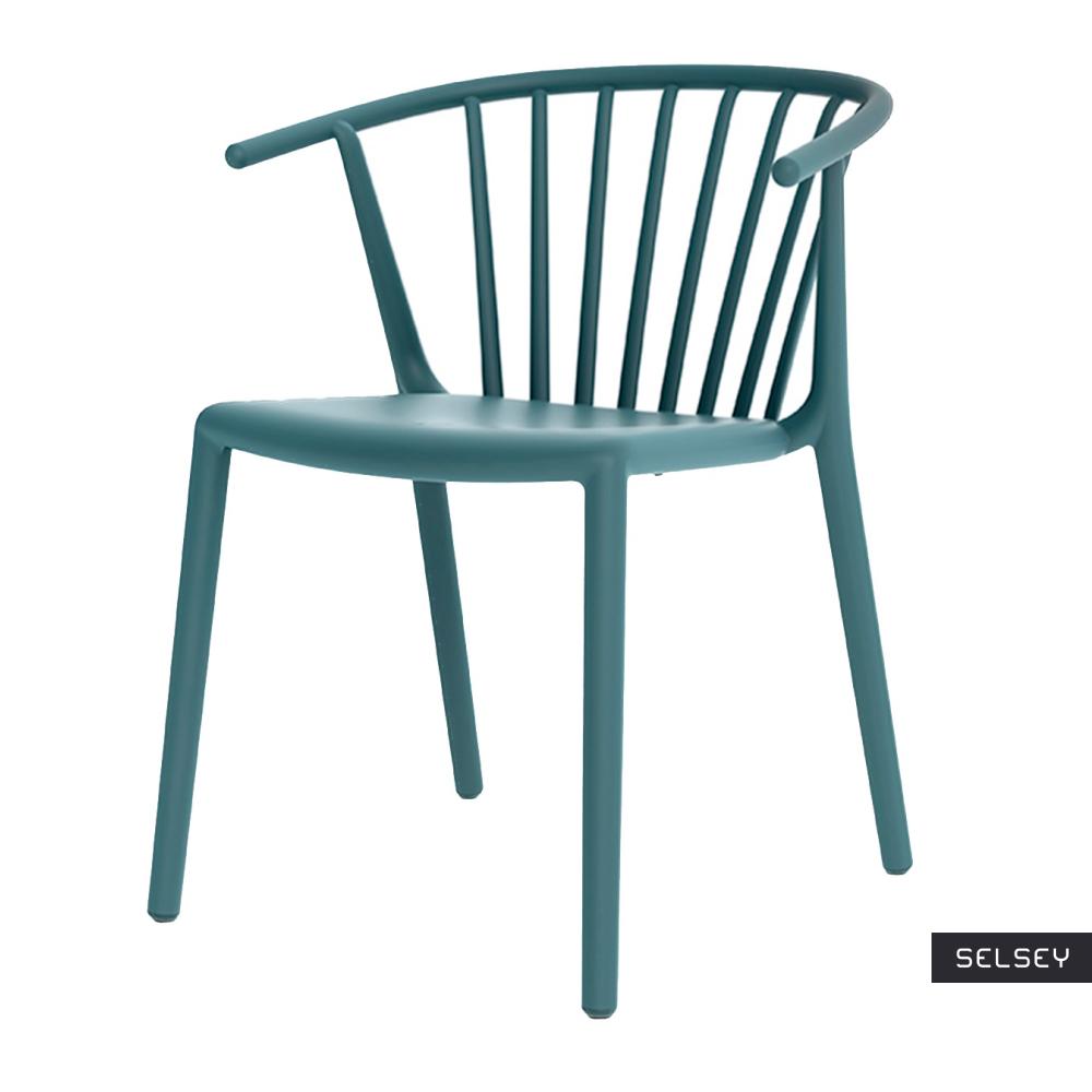 Krzesło Woody niebieskie