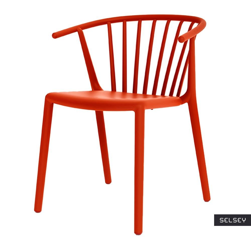 Krzesło Woody czerwone