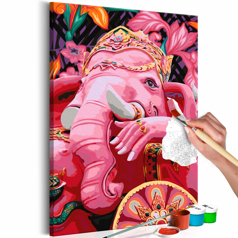 Obraz do samodzielnego malowania Ganesha