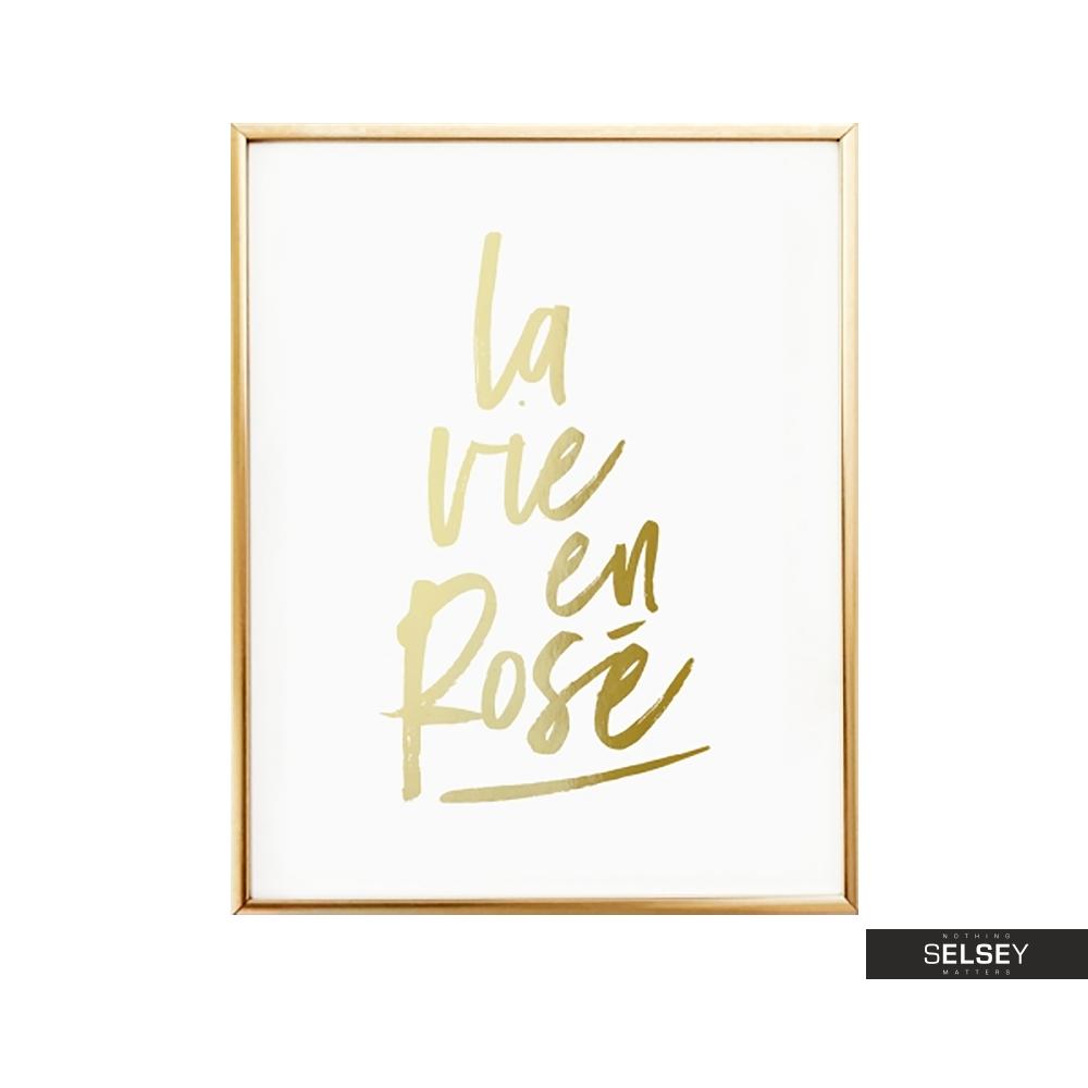 Plakat La Vie En Rose