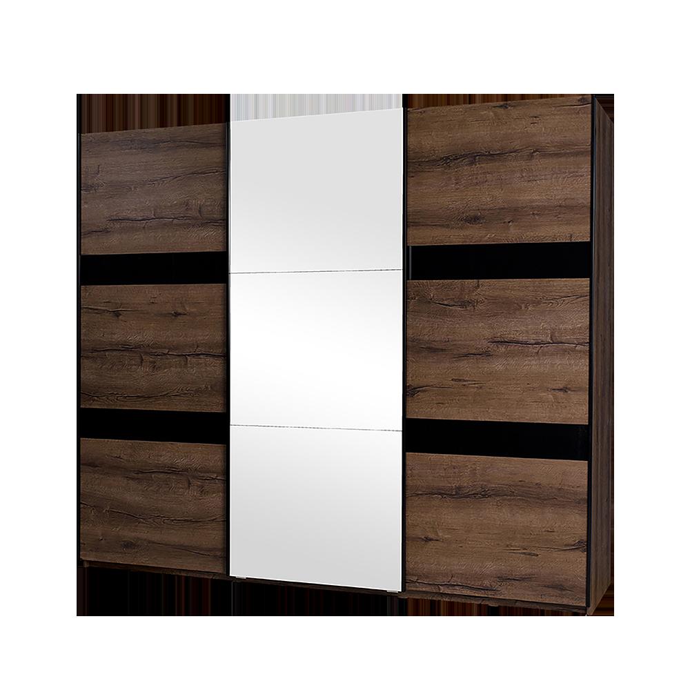 Szafa Rikno 250 cm z lustrem