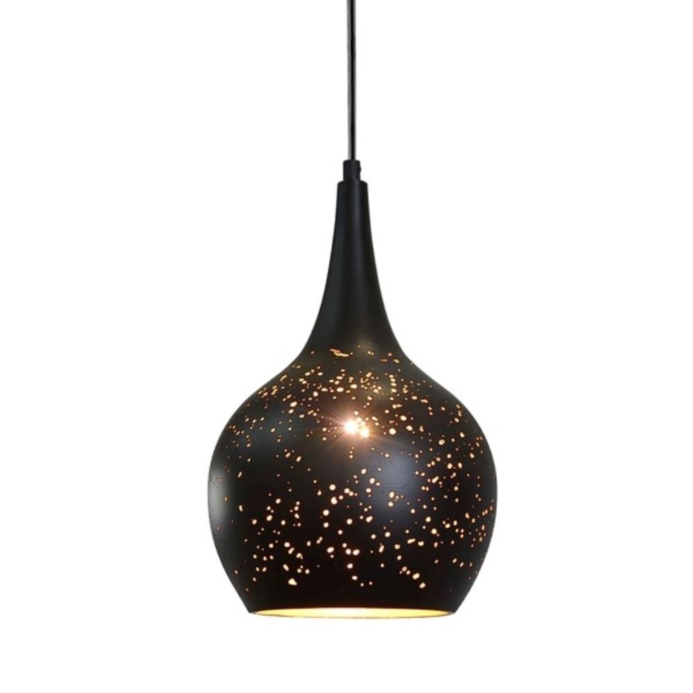Lampa wisząca Hukkus 30 cm zwężana