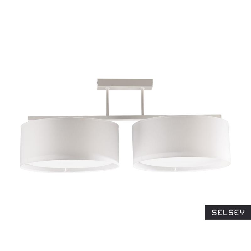 Lampa wisząca Harmony biała x2