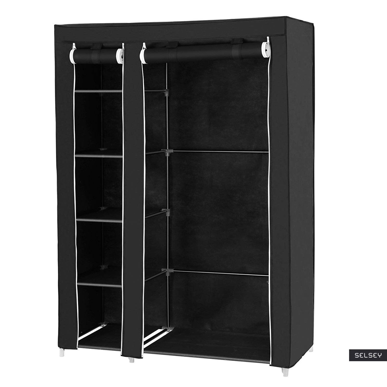 Szafa Baratins 110 cm czarna