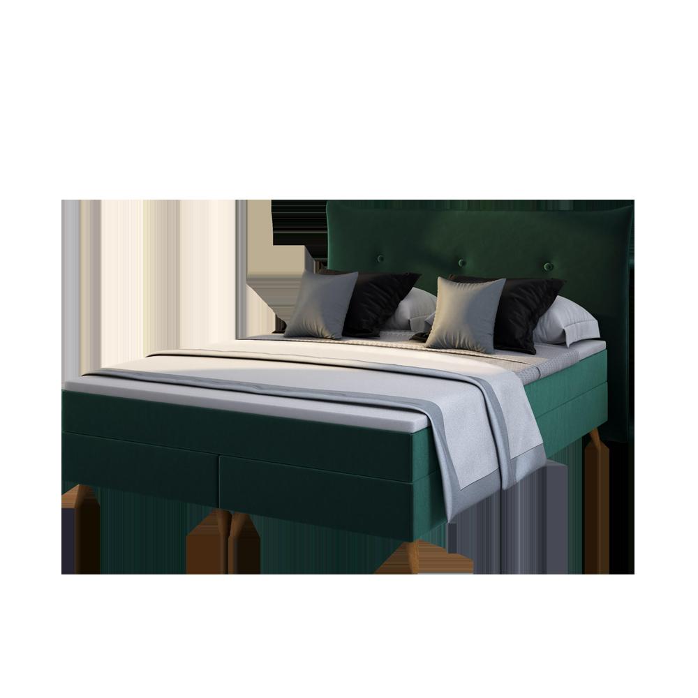 Łóżko kontynentalne Satli