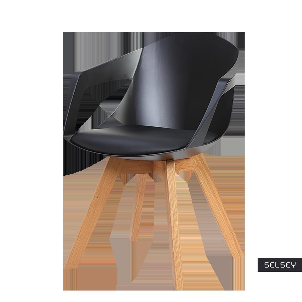 Krzesło Lumbarda czarne