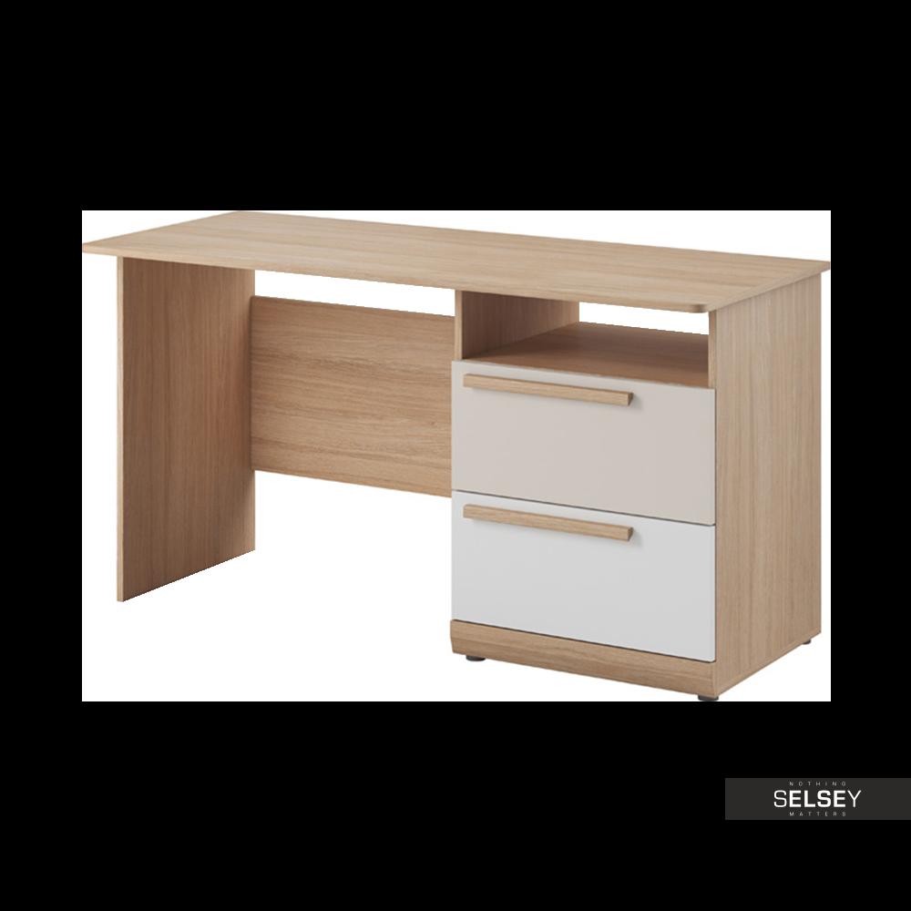 Biurko Maikona dwie szuflady