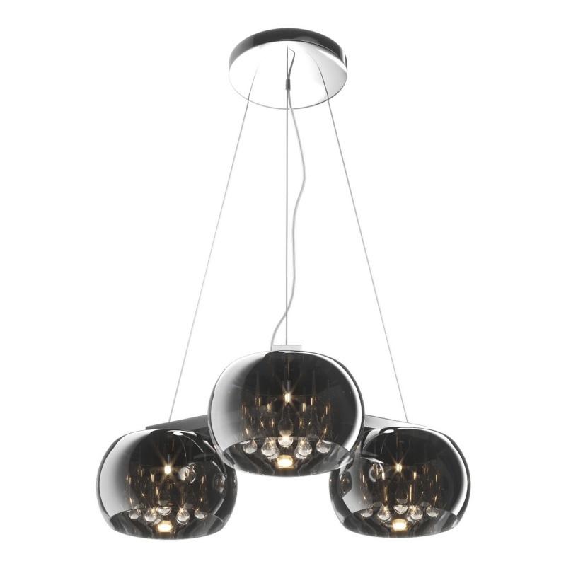 Lampa wisząca Glamour x3