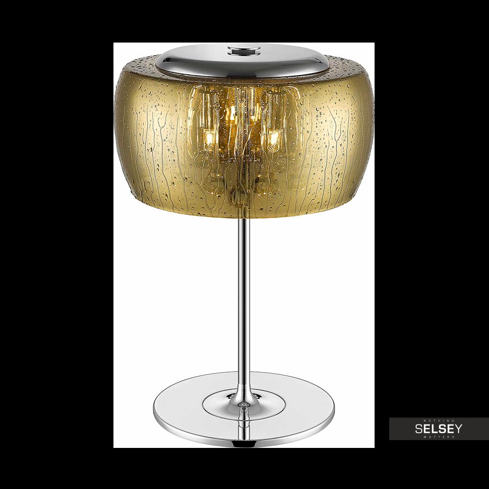 Lampa stołowa Alexis 36 cm złota