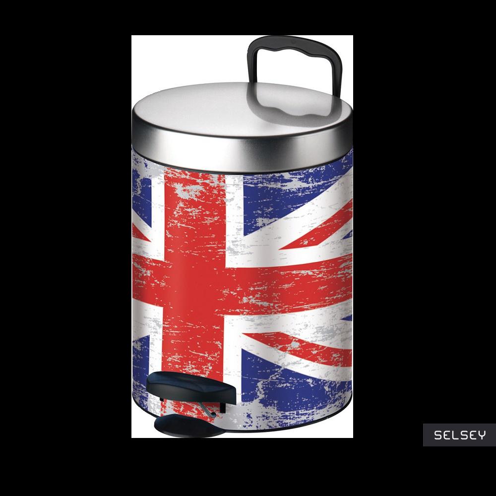 Kosz na śmieci New Line 5l flaga brytyjska