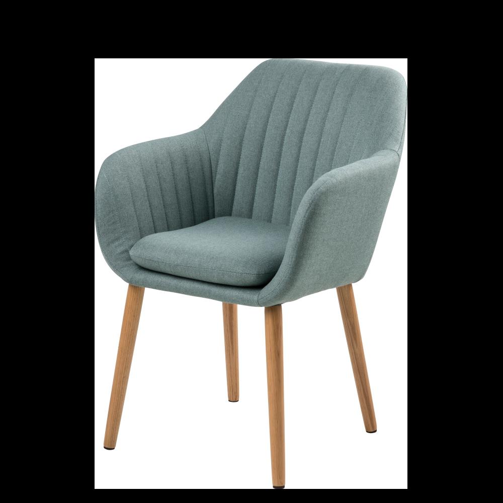 Krzesło Enyf cadet na drewnianej podstawie