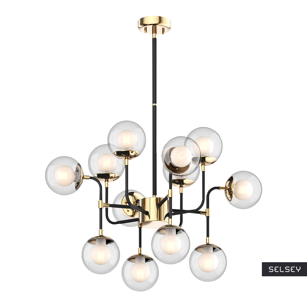 Lampa wisząca Tulum x12