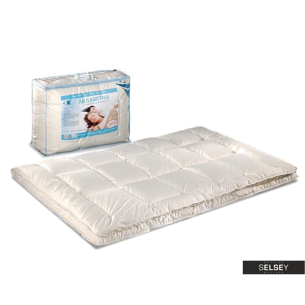 Kołdra Aksamitna 4 pory roku z poduszkami