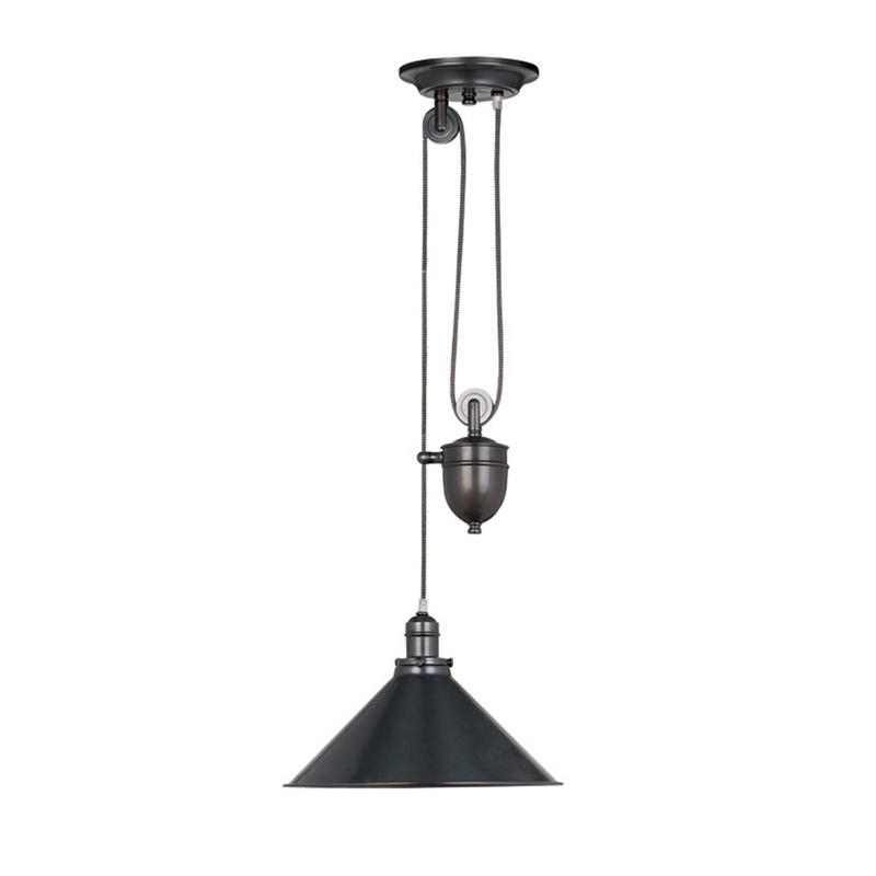 Lampa wisząca Provence regulowana bronze
