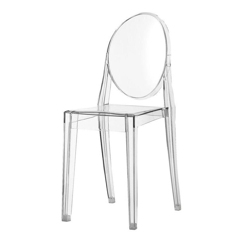 Krzesło Viki transparentne