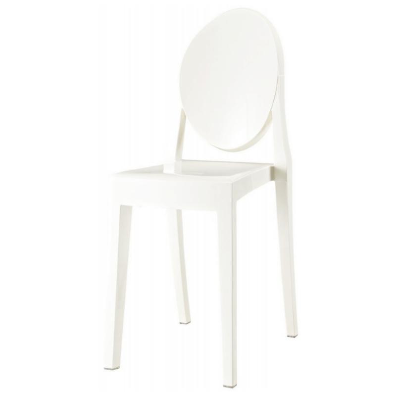 Krzesło Viki białe pełne