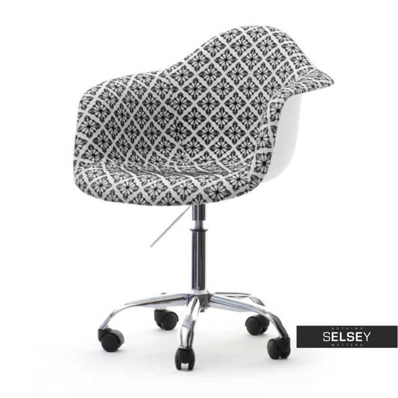 Fotel biurowy MPA move folk regulowany tapicerowany