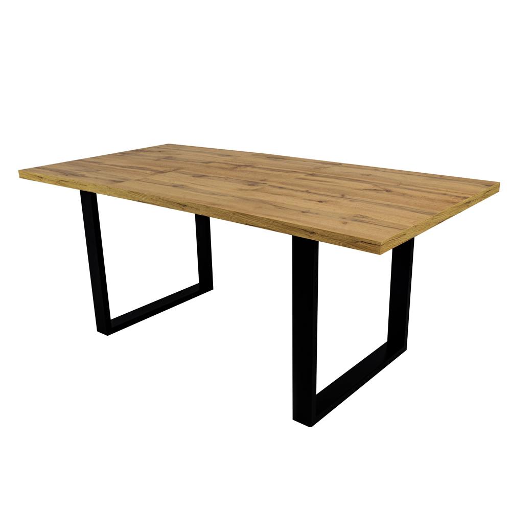 Stół rozkładany Lameca 135-185x85 cm dąb wotan
