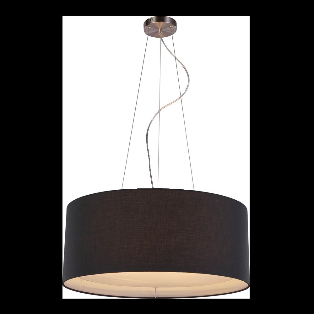 Lampa wisząca Nicolas czarna 60 cm
