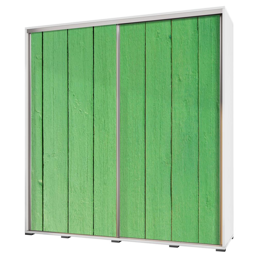 Szafa Wenecja 205 cm Zielone drewno
