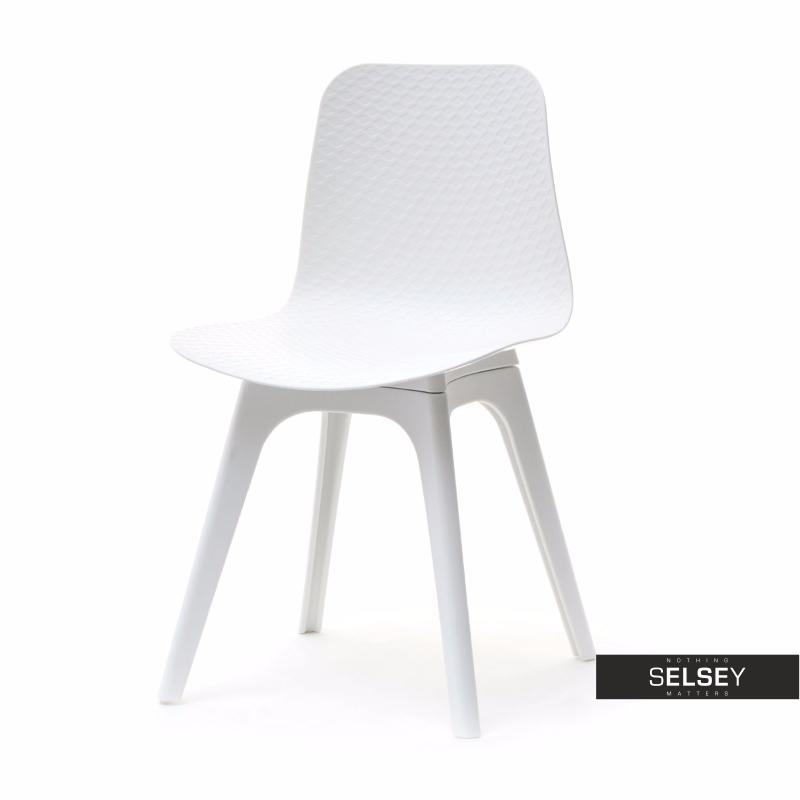 Krzesło Caro DSX białe z tworzywa