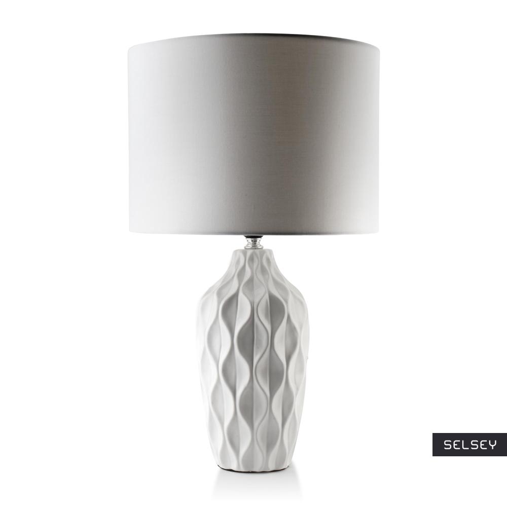 Lampa stołowa Sarto biała
