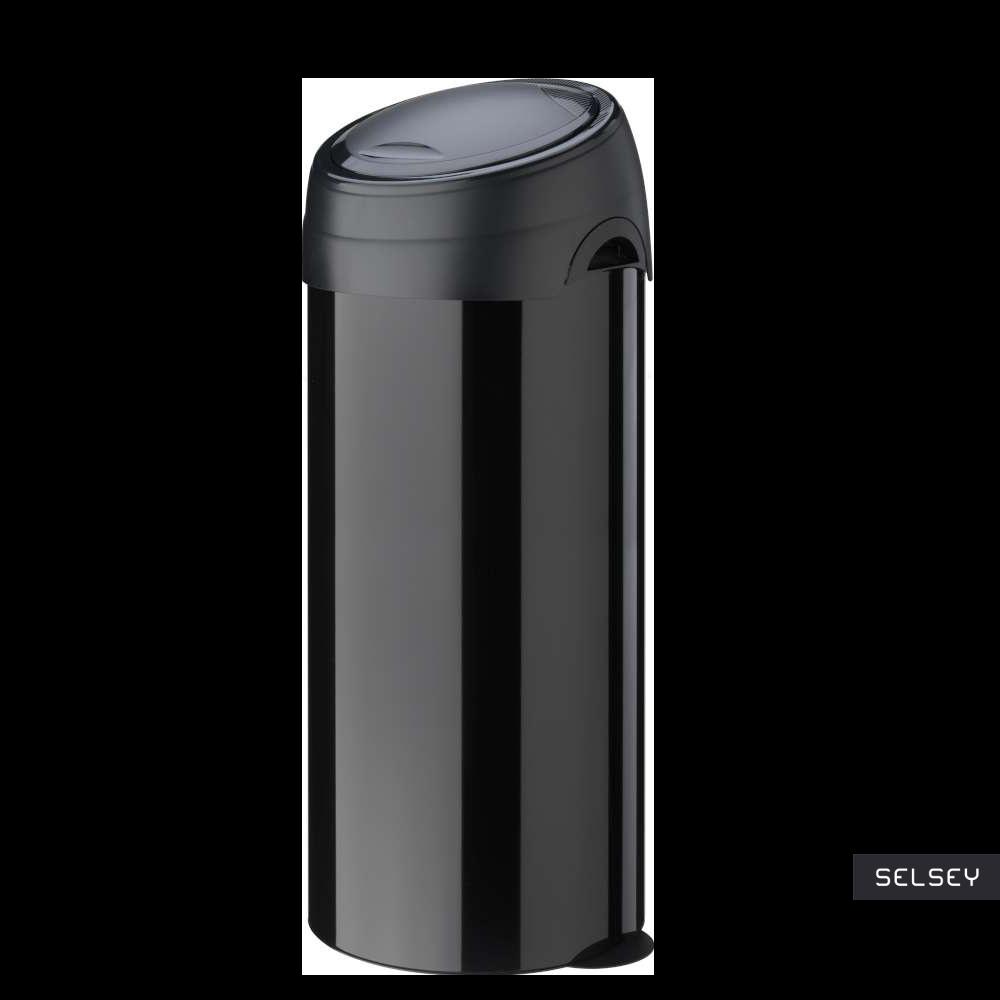 Kosz na śmieci Soft-Touch 40l czarny