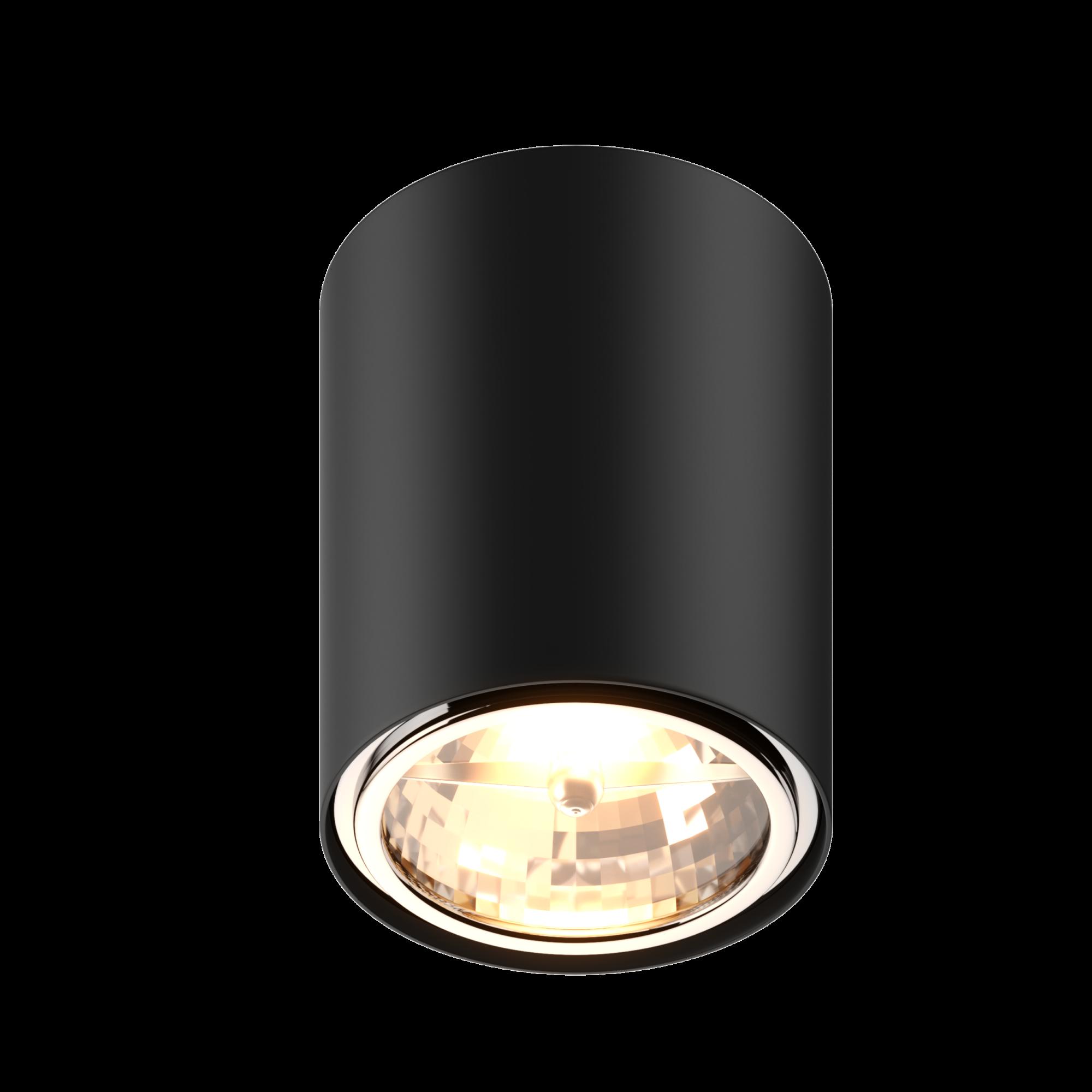 Spot Pence okrągły czarny