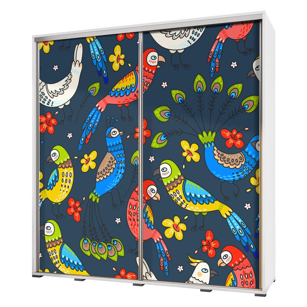 Szafa Wenecja 205 cm Papugi