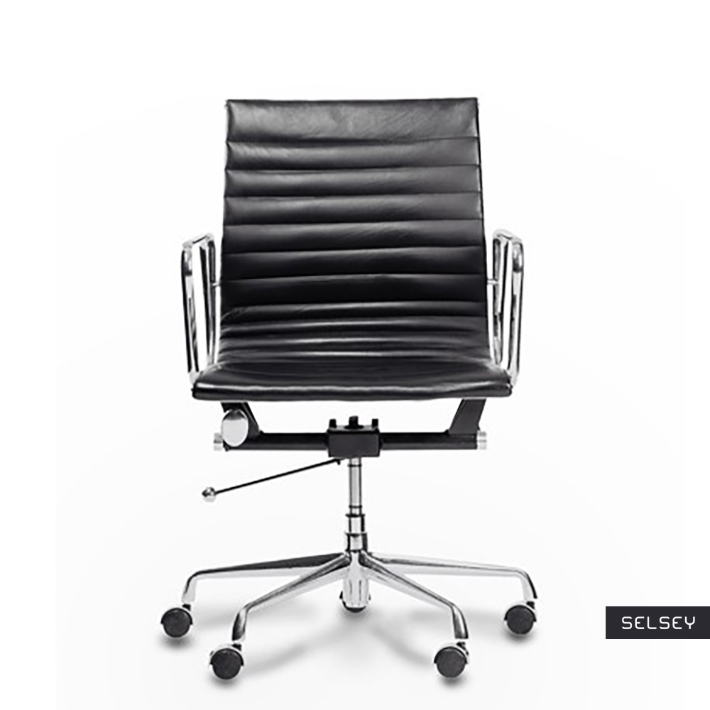 Fotel biurowy Selleck czarny