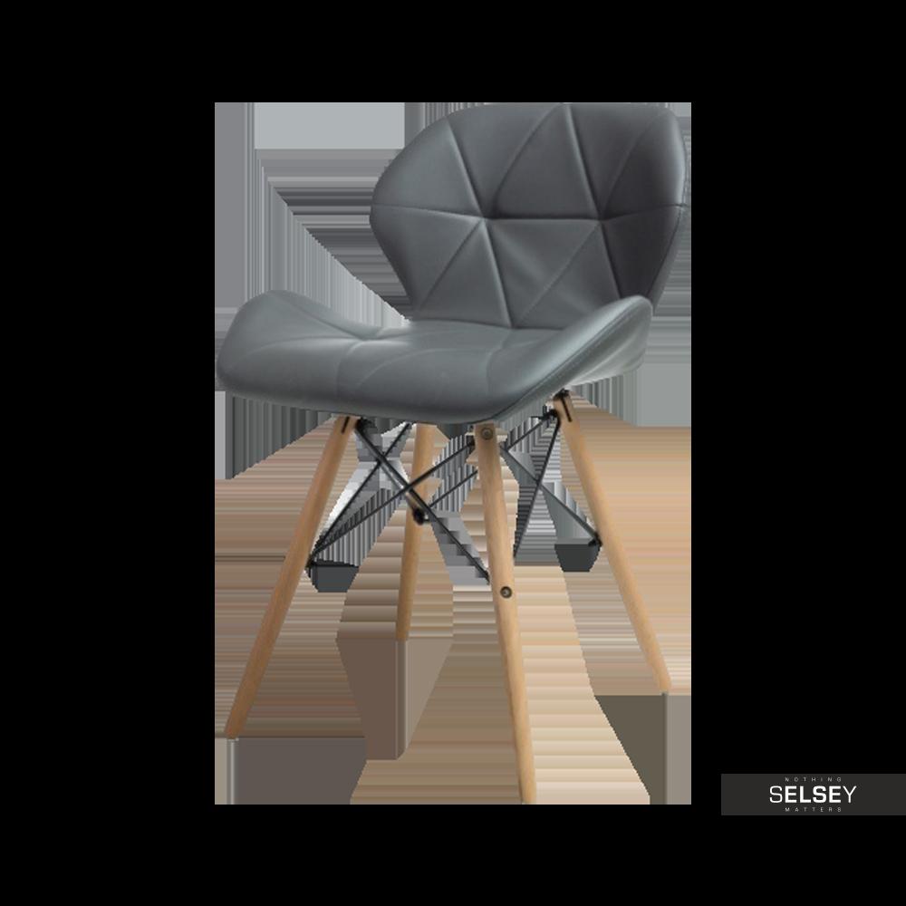 Krzesło Tejn szare