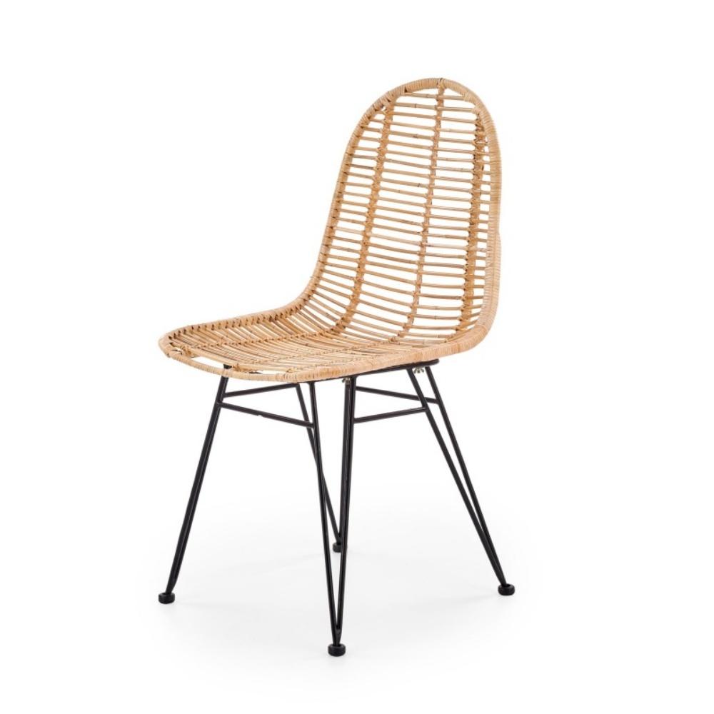 Krzesło Alia z naturalnego rattanu