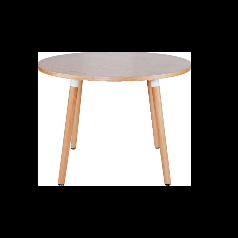 Stół Copine średnica 100 cm natural