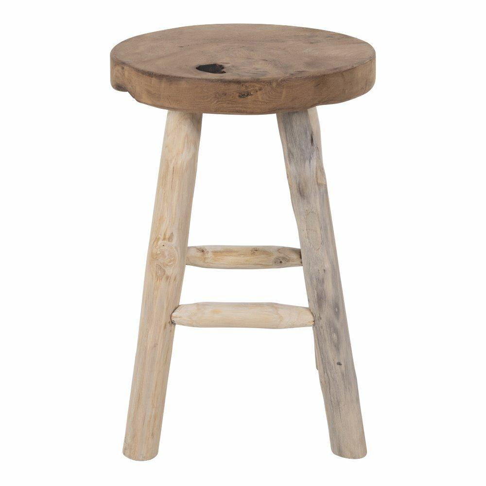 Stołek drewniany Norean