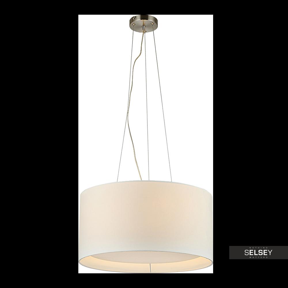 Lampa wisząca Nicolas beżowa 50 cm
