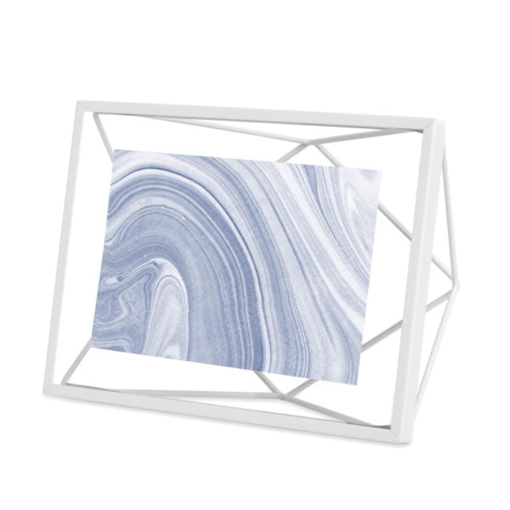 Ramka Prisma 10x15 cm biała