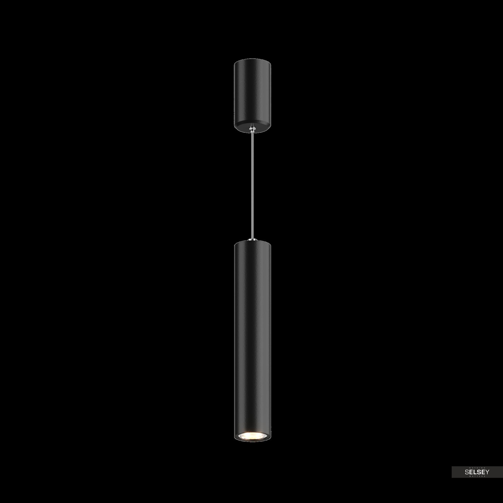 Lampa wisząca Tube czarna