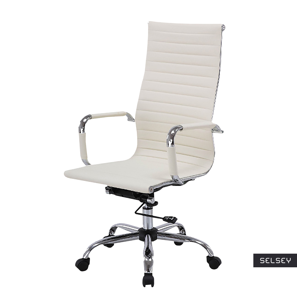 Fotel biurowy Olimpicot beżowy