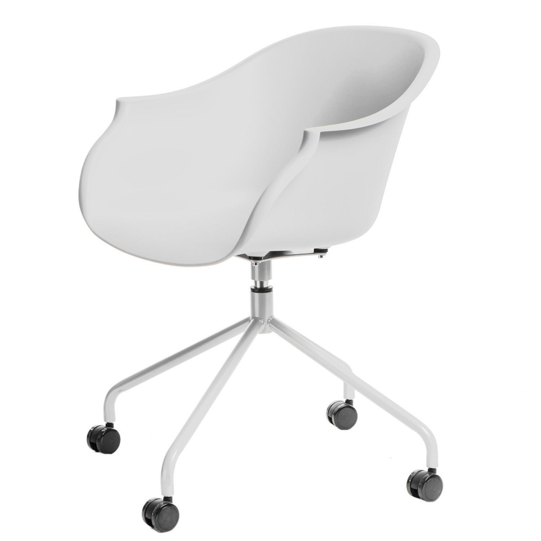 Fotel Roundy biały