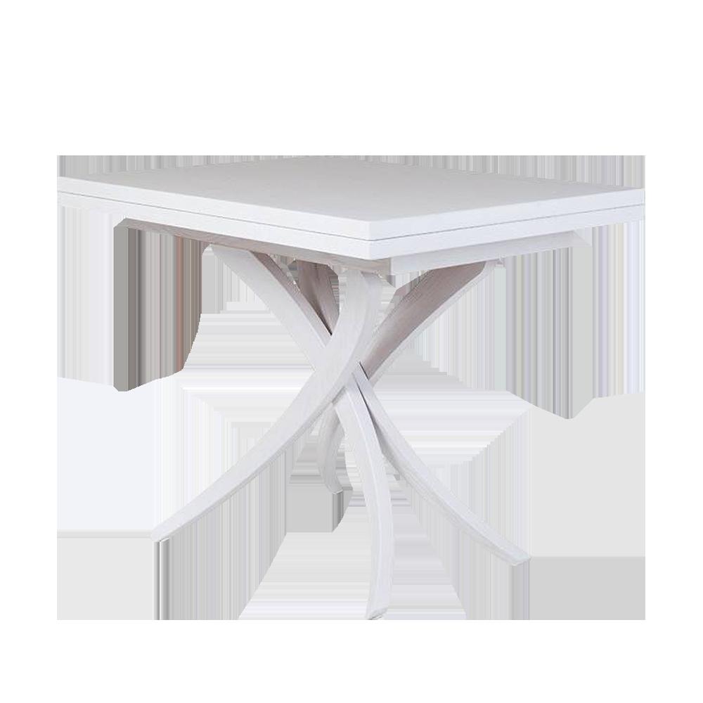 Stół rozkładany Genius 3w1 70-150x100 cm biały